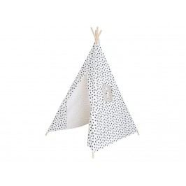 JABADABADO Tipi Zelt Schwarz/Weiß K039
