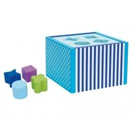 JABADABADO JaBa WooD Steckspiel Blau W7006