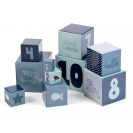 LIFETIME Kidsroom Spielwürfel Blue 1-10 S40032-03
