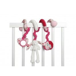LITTLE DUTCH Pink Blossom Activity Spirale Hase , 4322