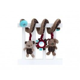 LITTLE BIRD TOLD ME , Baby-Activity Spirale Percy Pup LB3048