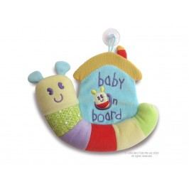 LITTLE BIRD TOLD ME , Activity Schnecke Baby on Board LB3019