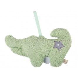 LOTTAS LABLE® Frottee Spieluhr Krokodil Kunori 29x18cm 6051-4