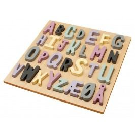 SEBRA® Holzpuzzle ABC Rosa 3015203