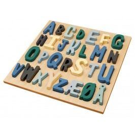 SEBRA® Holzpuzzle ABC Blau 3015103