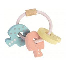 PLAN TOYS PlanToys Rassel Babyschlüssel Pastell 4005251