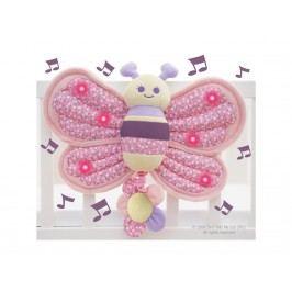 LITTLE BIRD TOLD ME , Spieluhr Schmetterling mit leuchtenden Flügeln LB3013