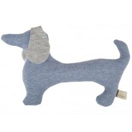 LOTTAS LABLE® Rassel Hund Bruno Pastell Blue 7057-23
