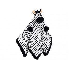 TEDDYKOMPANIET® Diinglisar Schmusetuch Zebra 454011