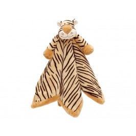 TEDDYKOMPANIET® Diinglisar Wild Schmusetuch Tiger 4514872
