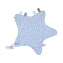 LITTLE DUTCH Sweet Blue Kuscheltuch Stern 6305