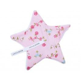 LITTLE DUTCH Pink Blossom Schnullertuch 15x15cm 3901