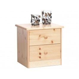 STEENS Nachttisch mit 2 kleinen Schubladen