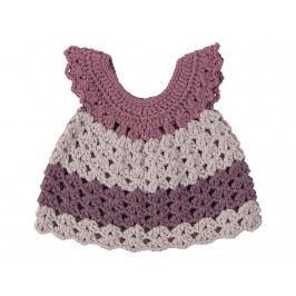 SEBRA® Puppenkleid Pastell Lila für 30cm Puppen 3003202