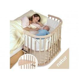 BABYBAY TOBI Babybay Original Babybay extra belüftet Original Beistellbett Buche 100110