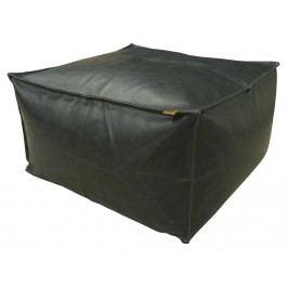 VAN BAAL Sitzkissen Vintage Leder Black 60x60x30cm 82097.606030.01