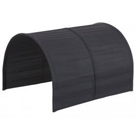 FLEXA BASIC Betttunnel Schwarz für Kinderbett Serie Ritter 83-40030