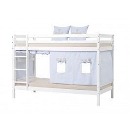HOPPEKIDS Fairytale Knight Vorhang für Spielbett oder Etagenbett 90x200cm Hoppekid 36-4601-LB-09A