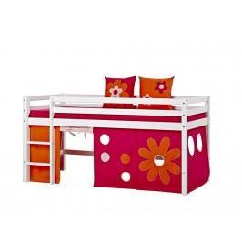 HOPPEKIDS Flower Power Vorhang für Spielbett und Etagenbett 90x200cm Hoppekid 36-4307-PI-09A