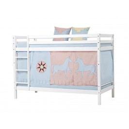 HOPPEKIDS Indian Girl Vorhang für Spielbett oder Etagenbett 90x200cm 36-2251-IG-09A