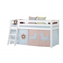 HOPPEKIDS Indian Girl Vorhang für Spielbett oder Etagenbett 70x190cm 36-2251-IG-07D