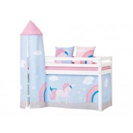 HOPPEKIDS Unicorn Turm für Halbhoch Bett 36-2552-LR-000