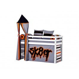 HOPPEKIDS Skater Turm für Spielbett Halbhoch Bett Höhe 185cm 36-2152-SK-000