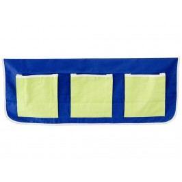 FLEXA BASIC Betttaschen Blau Grün für Kinderbett 83-90008