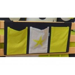 HOPPEKIDS Space Betttasche für Kinderbett 36-4366-BL-000
