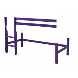 HOPPEKIDS Baukomponente mit Gerader Leiter für Spielbett 90x200cm My Color 36-1003-36-09A