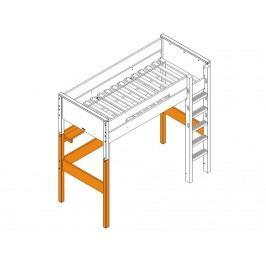 BOPITA Combiflex Supportset / Umbausatz zum Hochbett XL Weiß 42214611