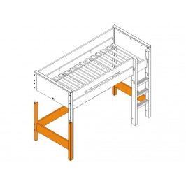 BOPITA Combiflex Supportset / Umbausatz zum Hochbett Weiß 42114611