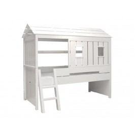 BOPITA Combiflex Baumhausbett Weiß inkl. Rolllattenrost 90x200 57014611-475146