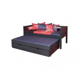 MANIS-H Bettliege mit Gästebett 2 Schubladen und Rolllattenrost