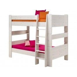 STEENS for Kids Etagenbett mit Rolllattenrost und Gerader Leiter 2906150013001N