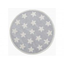 KIDS CONCEPT Teppich STAR Grau Kinderteppich 601831