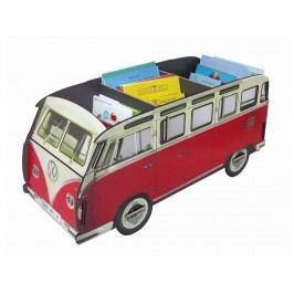 WERKHAUS Bücher Bus VW T1 Rot Länge 81cm Aufbewahrungskiste WH 2008