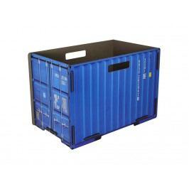 WERKHAUS Spielzeugkiste Container Blau Universal Box CO 1071