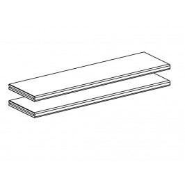 FLEXA Cabby 2x Trennwand für Kommode mit 2 Schubladen 81-25611-40