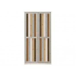 LIFETIME Kleiderschrank mit 2 Türen Kidsroom 90205-01W
