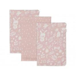 LITTLE DUTCH Adventure Waschlappen 3er-Set Pink 2983
