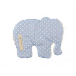 LOTTAS LABLE® Wärmekissen Elefant Hellblau/Mint 3137-5