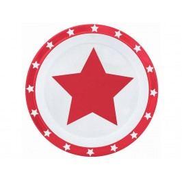 PIMPALOU Melamin Teller STARS Rot 180140