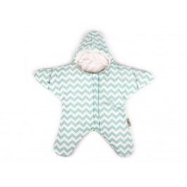 BABY BITES Schlafsack Star Mint 2 Größen , für Sommer oder Winter