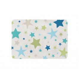 LOTTAS LABLE® Spielteppich SOFTIE Partysterne Blau/Grün 130x180cm 65003-5