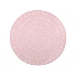 LOTTAS LABLE® Spielteppich SOFTIE MANDALA Light Pink Ø130cm 63002-6