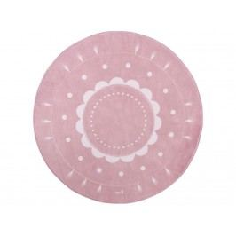 LOTTAS LABLE® Spielteppich SOFTIE MANDALA Rose Ø130cm 63002-21