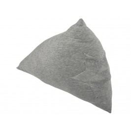 LOTTAS LABLE® Dreieck Kissen Pyramid Pepple Grey 45x35cm 18300-24