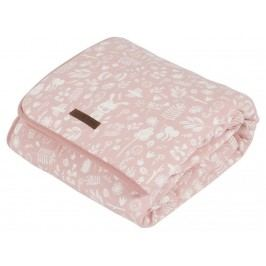LITTLE DUTCH Adventure Wiegendecke Pure&Soft Pink 70x100cm 1683