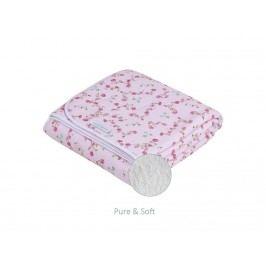 LITTLE DUTCH Pink Blossom Decke Pure&Soft , 70x100cm 1601